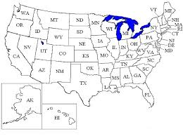 Map Of Usa Coloring Page Coloring Pages Or Coloring Pages Plain