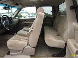 Tan Interior 2003 Chevrolet Silverado 2500HD LS Extended Cab 4x4 ...