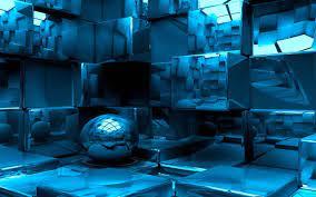 Blue 3D Wallpapers - Top Free Blue 3D ...