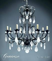 wire basket chandelier large image for cathedral ceiling rock crystal french diy