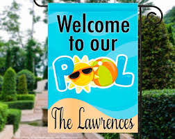 Swimming Pool Decor Signs Pool Decor Etsy 38