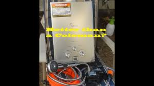 red track portable gas hot water heater review and tips