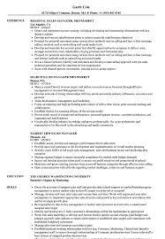 Sales Market Manager Resume Samples Velvet Jobs