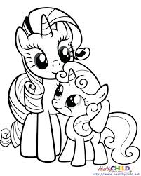 My Little Pony Friendship Is Magic Coloring Pages Rainbow Dash At