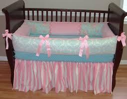 simple shabby chic crib bedding