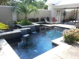 Front Yard Pool modern-pool