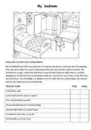 my bedroom worksheet by maestralidia english worksheet my bedroom