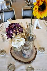 Vintage Wedding Table Decorations Pinterest Rustic Purple Wedding