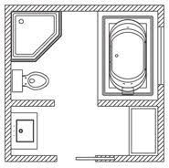 bathroom floor plans. Perfect Floor Bathroom Floor Plan  101 Sq Ft For Plans
