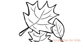 Fall Coloring Pages Simple Fun For Kids Free Fall Coloring Page