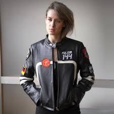 polizei 144 womens rally jacket black w model