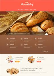 34 Bakery Website Themes Templates Free Premium