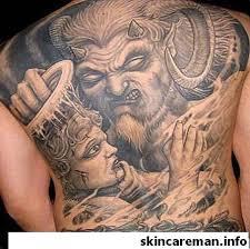 18 Výkonné Vzory Tattoo Diabla Vypadají Agresivně V Roce 2019