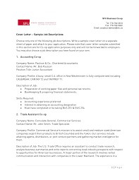 Best Solutions Of Cover Letter For Chartered Accountant Resume