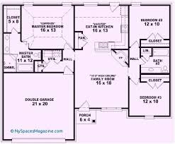 floor plans for homes one story 4 bedroom house plans e story awesome single story floor