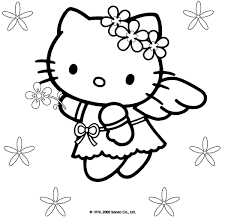 Disegni Da Colorare Di Hello Kitty Hello Kitty Mania