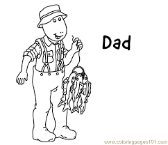 Small Picture Dad Coloring Coloring Page Free Arthur Coloring Pages