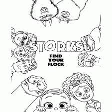 Leuk Voor Kids Storks Movie Ooievaars Kleurplaten
