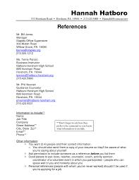 Template Resume Reference Template Templates How To List