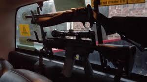 Texas style Rifle Rack - YouTube