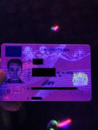 Secret Driving License On Design Mildlyinteresting Uv Reveals Uk Light