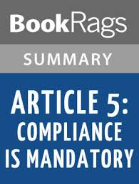 article 5 pliance is mandatory by kristen simmons l summary study guide