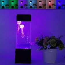 relaxing lighting. LumiParty LED Desktop Light Jellyfish Tropical Fish Aquarium Tank Relaxing Bedside Mood Night Lighting .