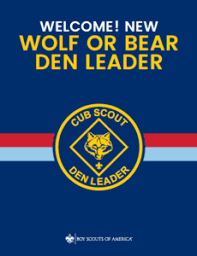 Wolf Advancement Chart Wolf Den Leader Resources Boy Scouts Of America