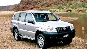 Toyota Land Cruiser Prado GX 5 door AU spec J120W '2003–09 - YouTube