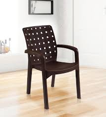 plastic chairs. Exellent Chairs Luxury Plastic Chair In Brown Colour By Italica Furniture Throughout Chairs H