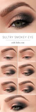 how to sultry smokey eye makeup tutorial