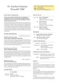 Resume Latex Templates A Curricula Vitae Professional