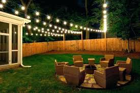 Party lighting ideas outdoor Wedding Garden String Lights Yard Backyard Outside For Party Lighting Ideas With Hanging Patio Target Outdoor Lights Hang Outdoors Pernettco Outdoor Deck String Lighting Ideas For Backyard Fascinating Patio