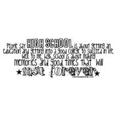 Quotes About High School Impressive High School Quotes Via Tumblr On We Heart It