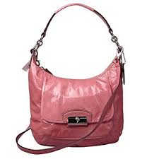 Coach Kristin Patent Leather Hobo 19299 (SV Rose)
