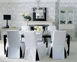 best black dining room chair covers photos liltigertoo in black and white dining room chairs decor