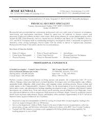 Federal Resumes Examples – Resume Web