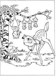 Bambi Vind En Print Bliksemsnel Een Kleurplaat Ukkonl