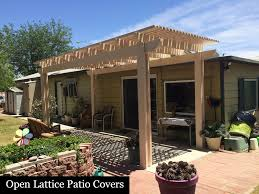 these patio covers will increase your property value provide extra living space and give you many years of protection and relief from the hot sun