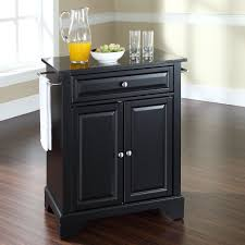Kitchen Cart Granite Darby Home Co Abbate Kitchen Cart With Granite Top Reviews Wayfair