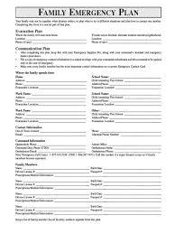 Family Emergency Plan Every Needful Thing Emergency Preparedness