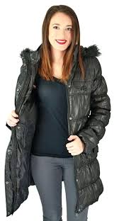 long black winter coat urban republic juniors long belted puffer faux down belted winter coat with