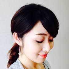 井川遥さん風ふんわりポニーテールも マキアオンラインmaquia Online