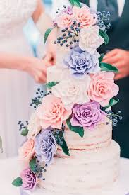 best 25 floral wedding cakes ideas