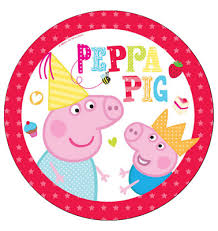 Peppa Pig Cupcake Toppers Zeppyio