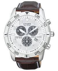 citizen men s eco drive perpetual calendar chronograph brown citizen men s eco drive perpetual calendar chronograph brown leather strap watch 44mm bl5470 06a