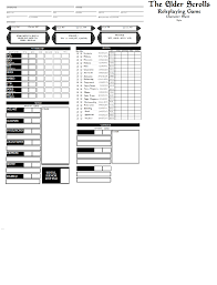 pokemon tabletop character sheet tes tabletop rpg sheet wip imgur