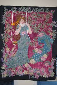 119 best Victorian Quilts images on Pinterest | Stitches ... & handmade quilts made in usa | Hand made quilt wallhanging Victorian style  young by leiahcooper Adamdwight.com