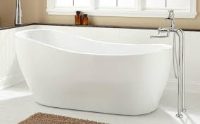 Tub 72 Sheba Double Slipper Freestanding Acrylic Tub Amazing
