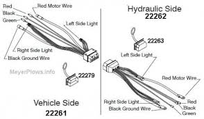 weather plug (truck side) for mdii main wiring harness how to wire plow lights to a toggle switch at Truck Lite Plow Lights Wiring Diagram